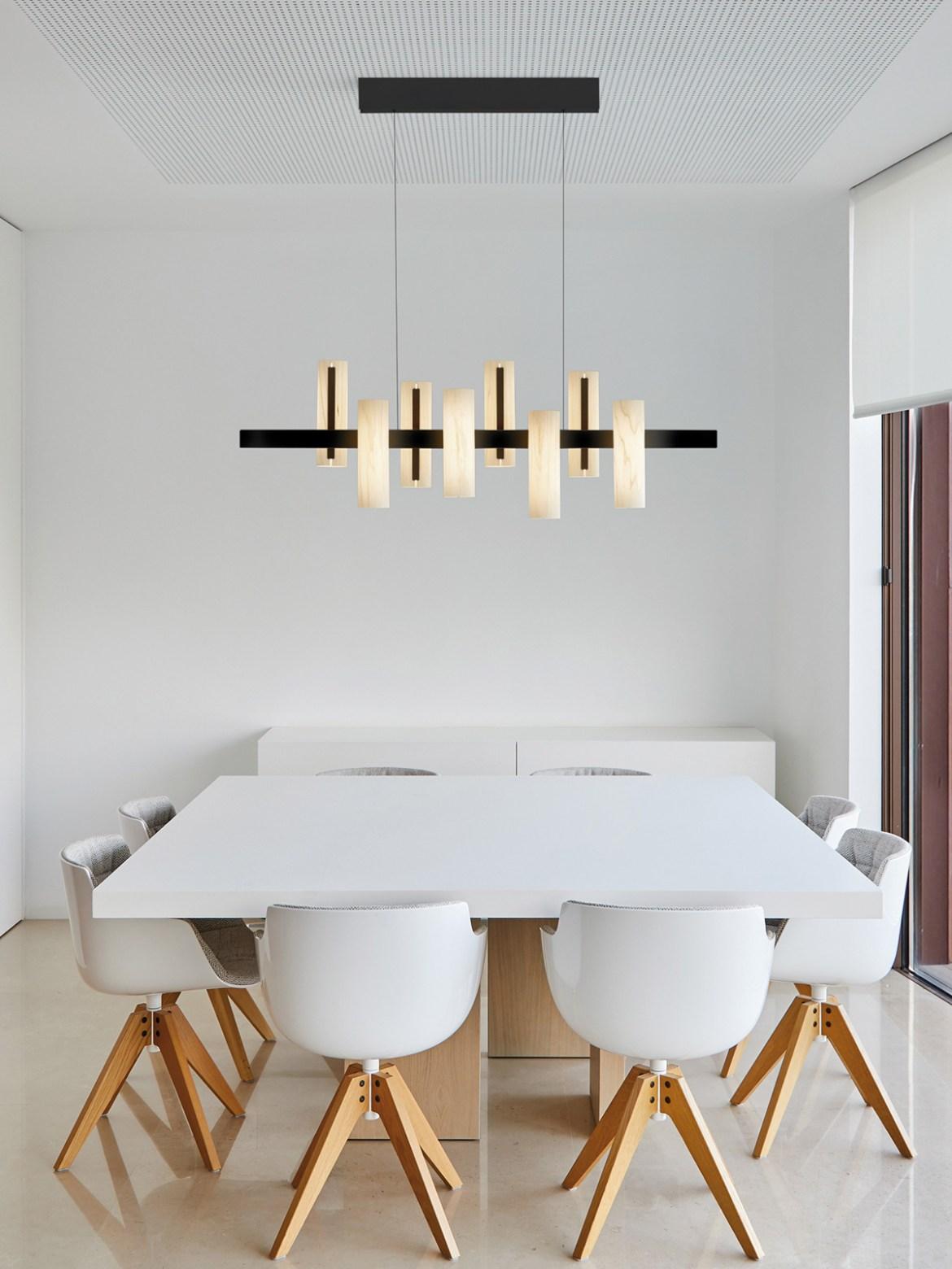 DesignOrt Blog: Designerleuchten in Schwarz und Weiß Black Note S KS LED LZF Lamps