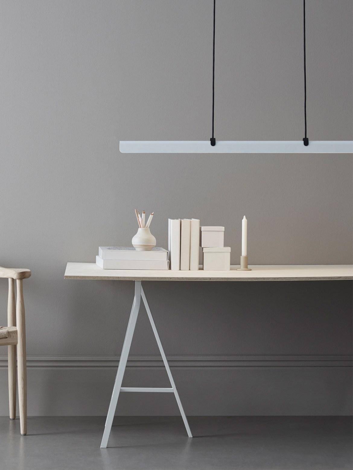 DesignOrt Blog: Fold Linear lange LED Pendelleuchte von Belid