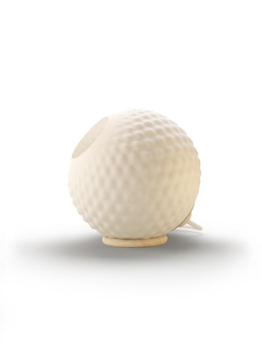 Polyluma Mono Table Flax Bulb Tischleuchte