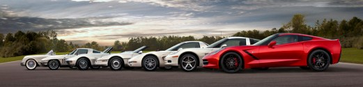 the whole corvette family