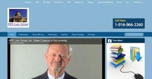 Website BPE Law HTML to WordPress E-commerce 800