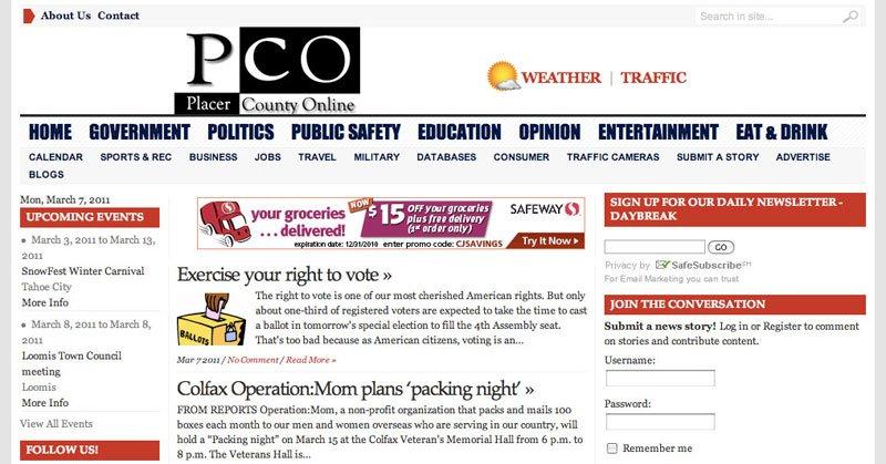 Website Placer County Online WordPress 800
