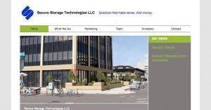 WordPress customization - Secure Storage Technologies - PSD to WordPress