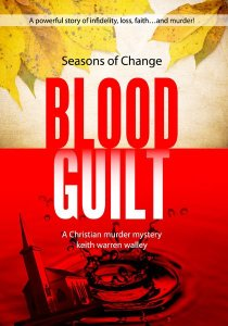 Book cover design: Blood Guilt by Keith Warren Walley