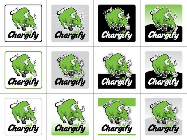 Chargify 125x125 banner ads concept matrix - plain