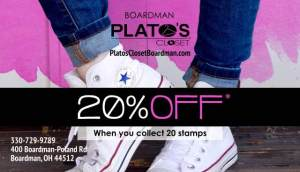 Loyalty Card: Plato's Closet 2016 (front)