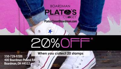 Plato's Closet Loyalty Card 2016 (front)