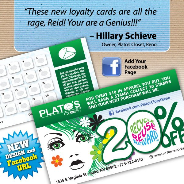 Plato's Closet Loyalty Cards