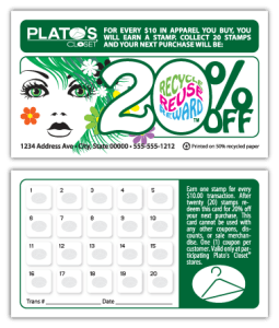 Plato's Closet, Reno - Loyalty Card