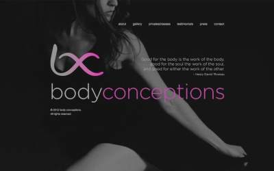 PSD to WordPress Child Theme – Body Conceptions