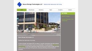 Secure Storage Technologies - PSD to WordPress, WordPress Customization