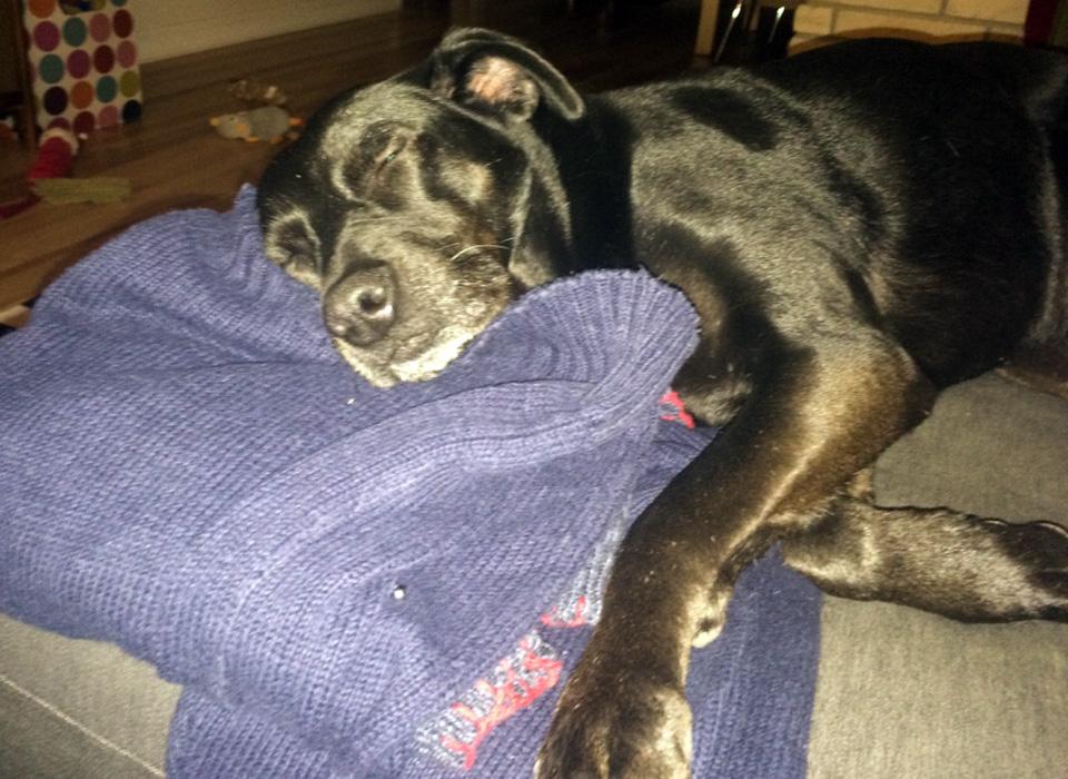 Penny-Sleeping-Ugly-Christmas-Sweater