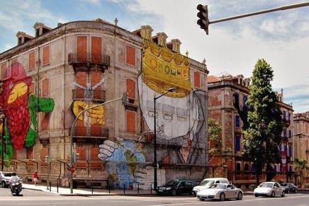 Blu e OsGemos a Lisbona