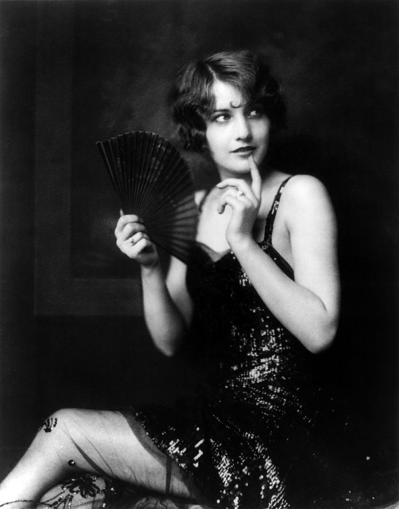 Barbara Stanwyck, Ziegfeld girl, by Alfred Cheney Johnston2