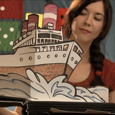Illustration & Making of Pop up Book / 'Lille' music video / Lisa Hannigan