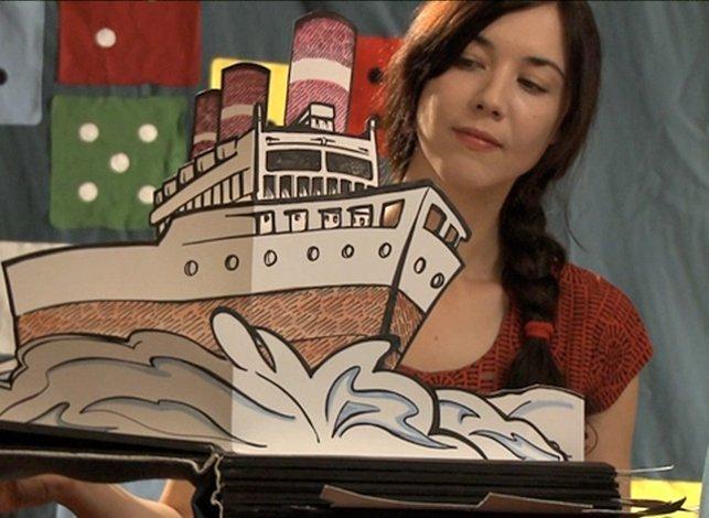 Illustration & Making of Pop up Book / 'Lille' music video / Lisa Hannigan