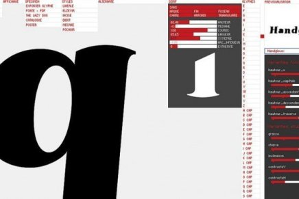 Font generator Prototyp-0, Yannick Mathey