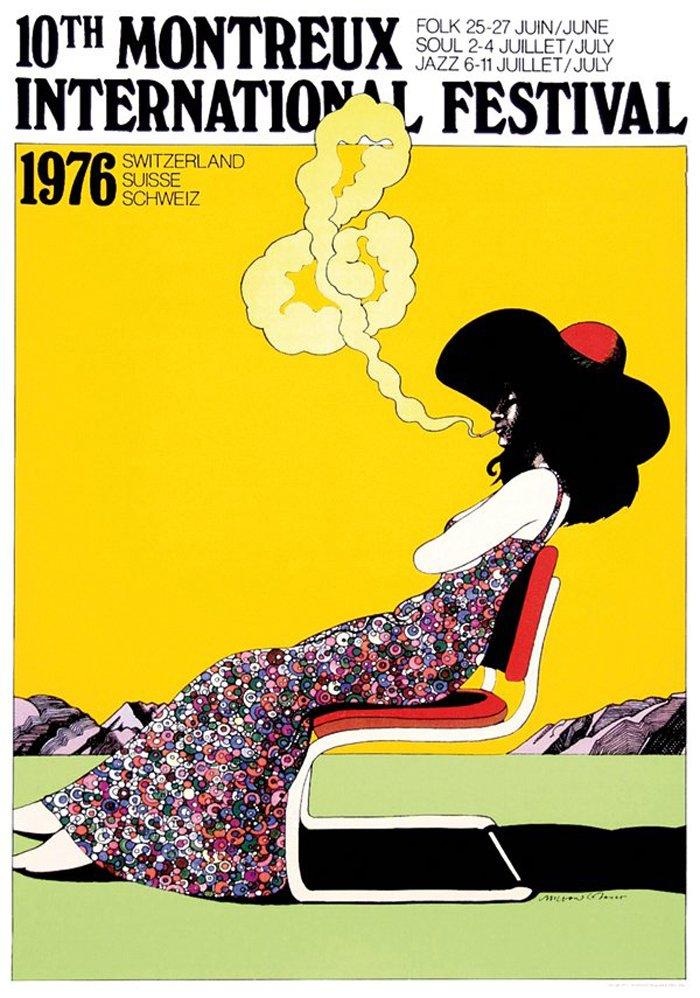 Milton Glaser 1976, 1977