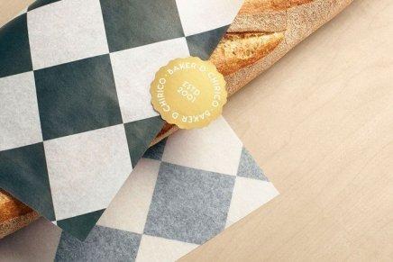 Baker D. Chirico identity, Fabio Ongarato Design