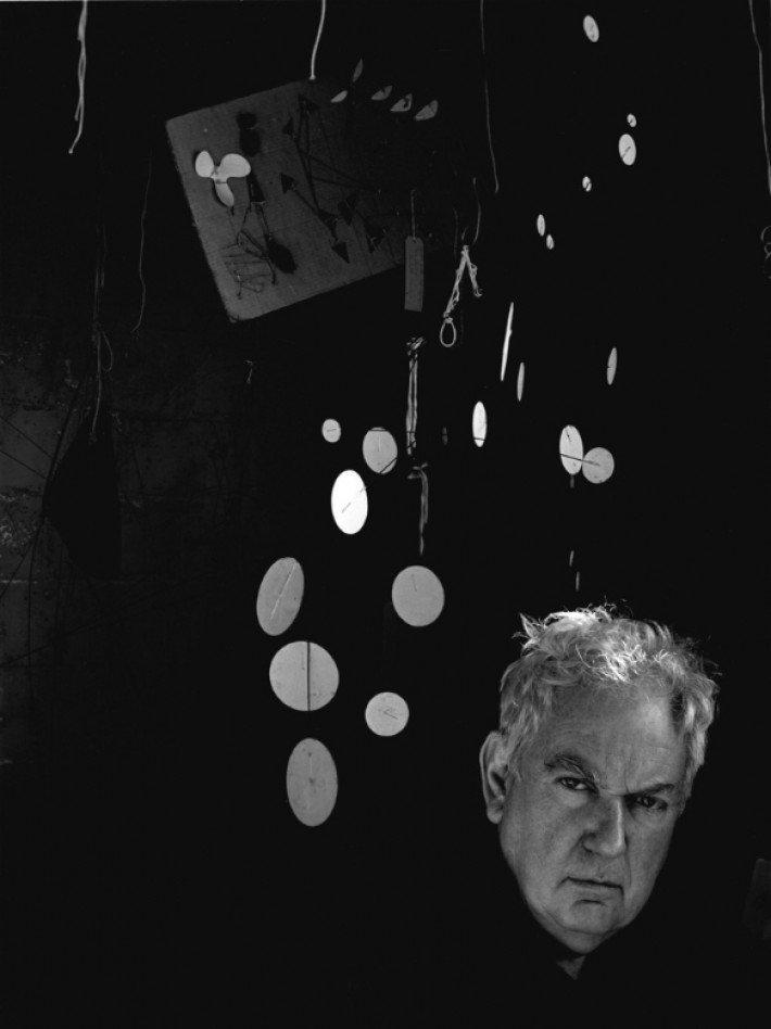 Alexander_Calder,Woodbury,_CT,_1957