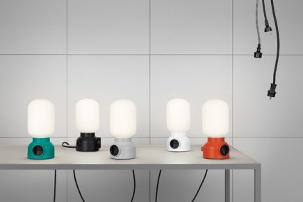 Plug Lamp, Form Us With Love per Ateljé Lyktan