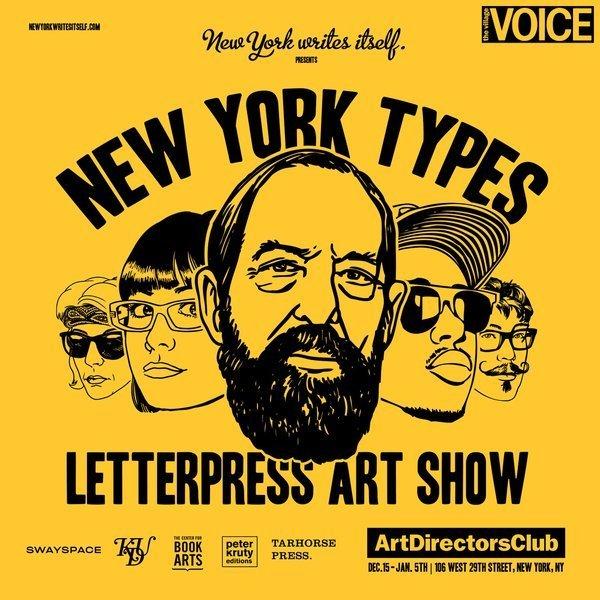New York Types su designplayground.it