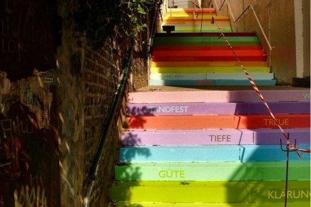Rainbow Staircase, Horst Gläsker
