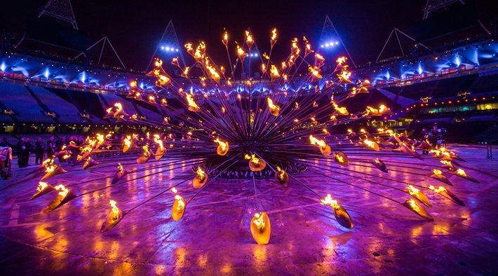 Il braciere olimpico di Londra 2012, Thomas Heatherwick