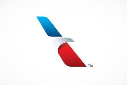 L'evoluzione di un'icona.  Il nuovo logo di American Airlines
