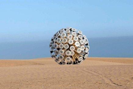 Mine Kafon, Massoud Hassani. Il detonatore di mine alimentato dal vento.