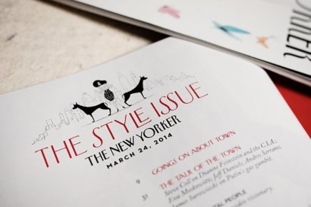 The New Yorker Style issue, Simone Massoni