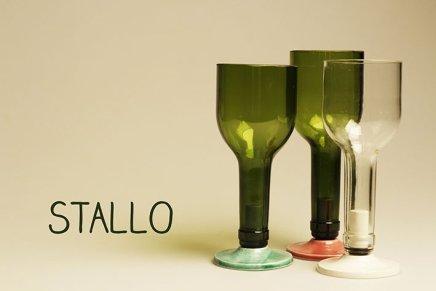 Stallo, la bottiglia diventa bicchiere