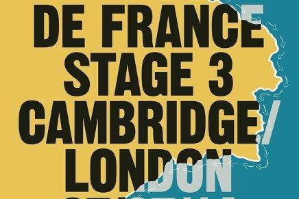 I manifesti di Paul Smith per le tre tappe del Tour de France in Gran Bretagna