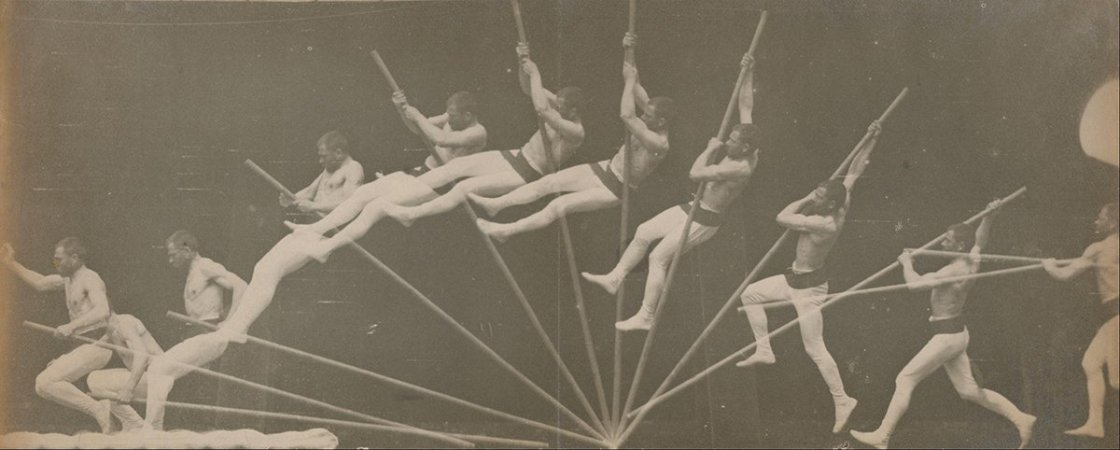 Étienne-Jules Marey - Movements in Pole Vaulting  (1885-1895)