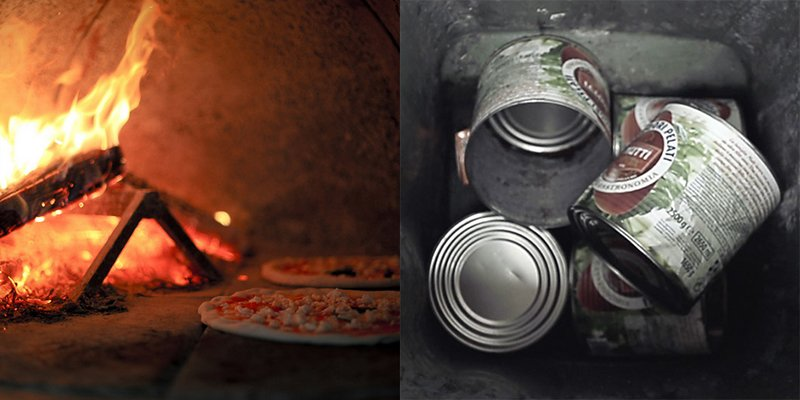 Izmade_IndieGoGo_Margherita_lamp_Campaign_Pizza_and_tomato_cans