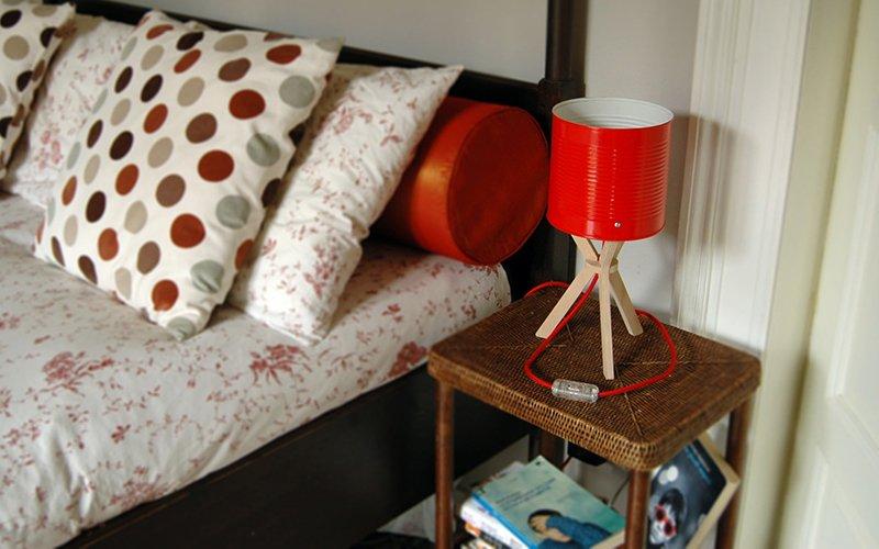 Lampada Barattolo Di Latta : Margherita la lampada sostenibile di izmadedesign playground