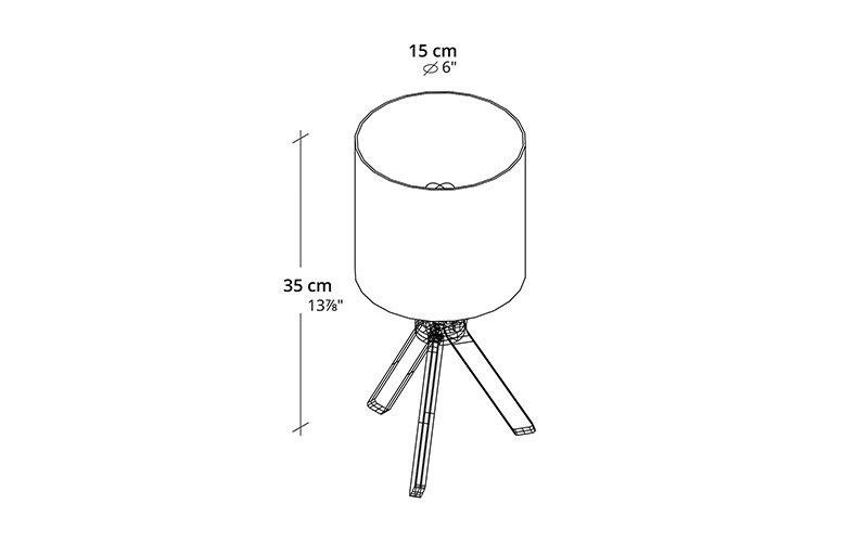 Izmade_Margherita_lamp_Measurement