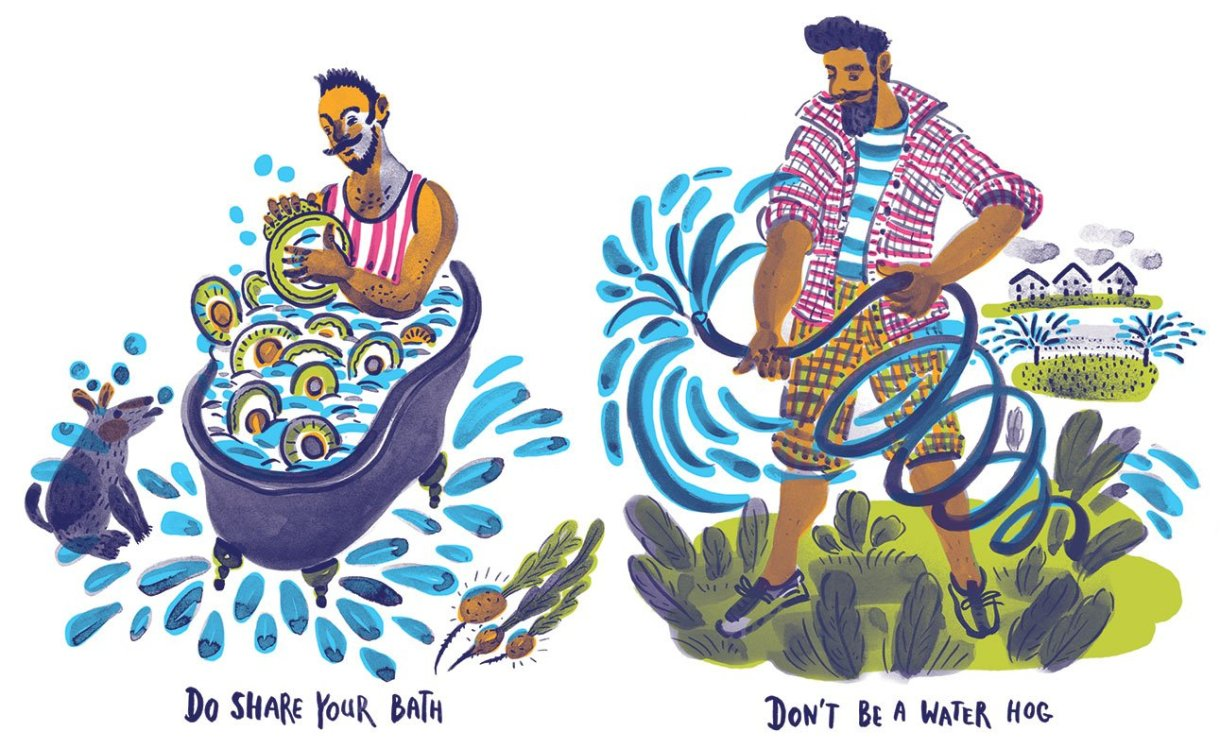 """Illustrazione per """"Modern Farmer magazine"""""""