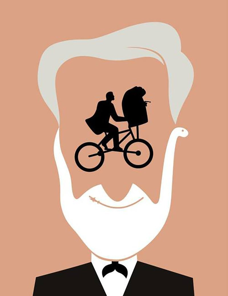 'Steven Spielberg' by Noma Bar