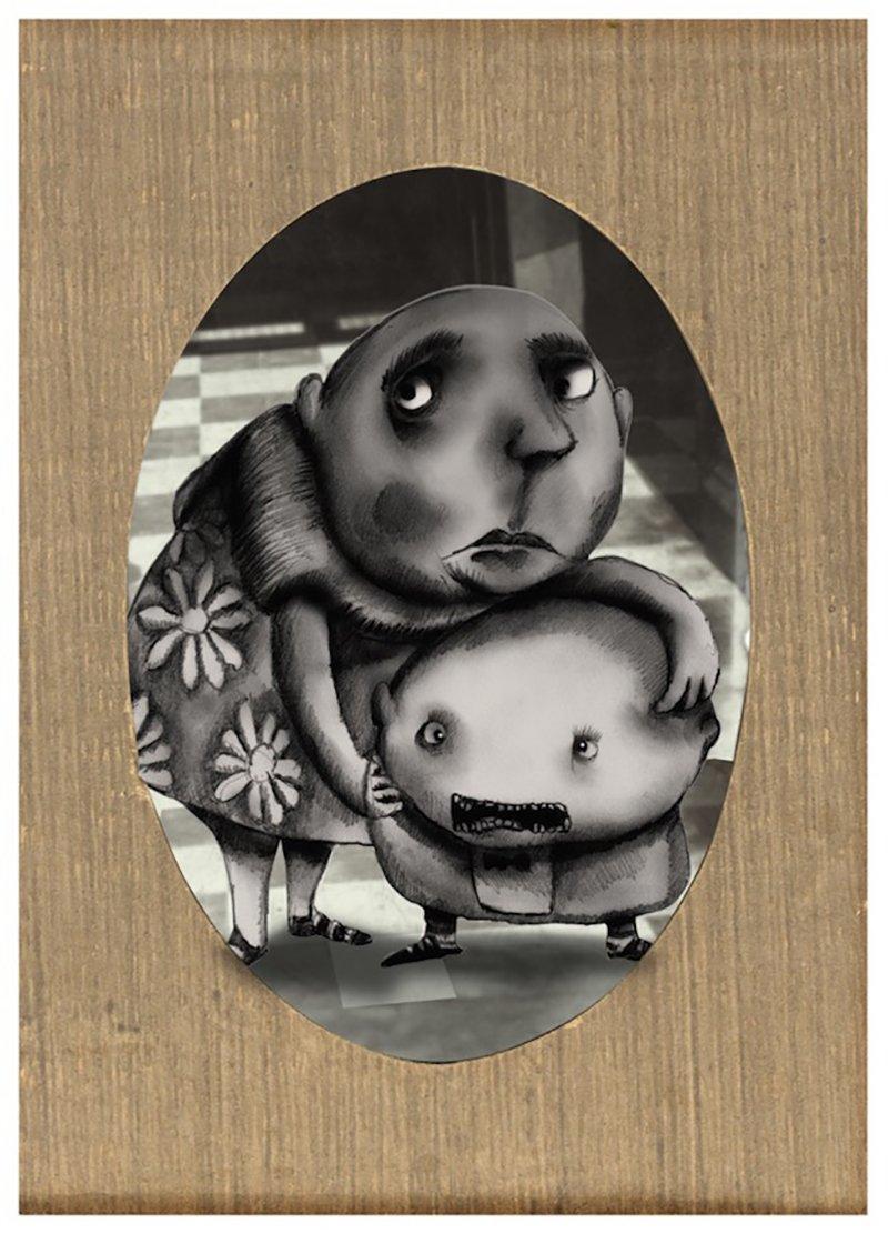 © Victor Hugo Riveros Strange, La mamma e il bambino
