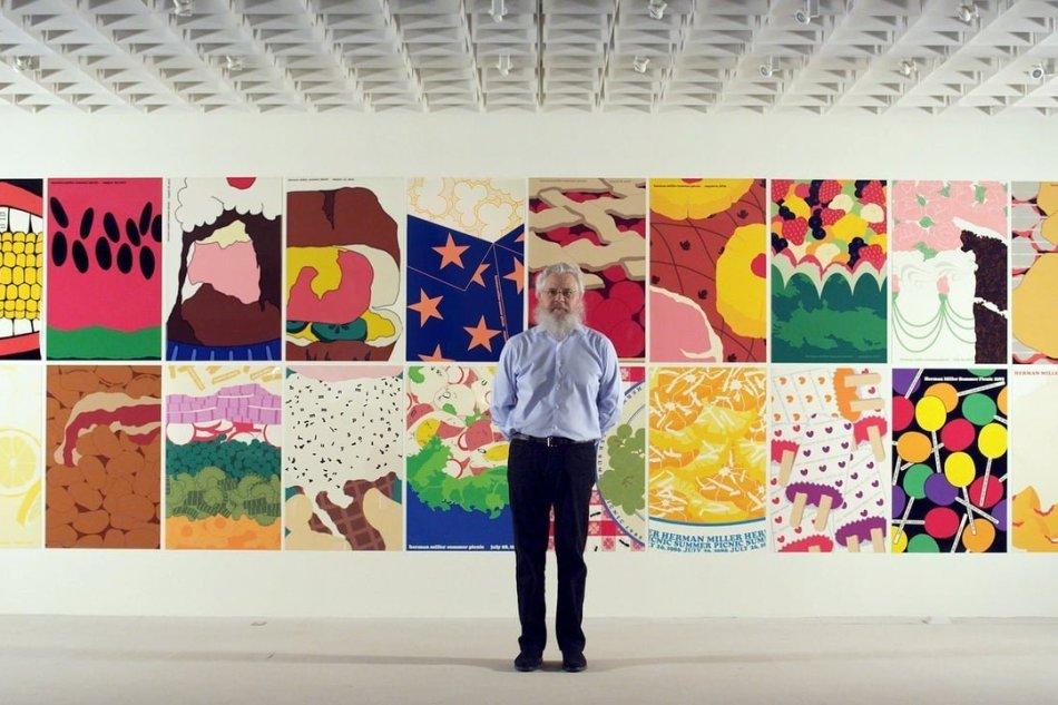 """Herman Miller: I """"Picnic Posters"""" di Steve Frykholm"""