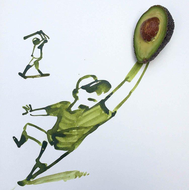 avocadoBaseball