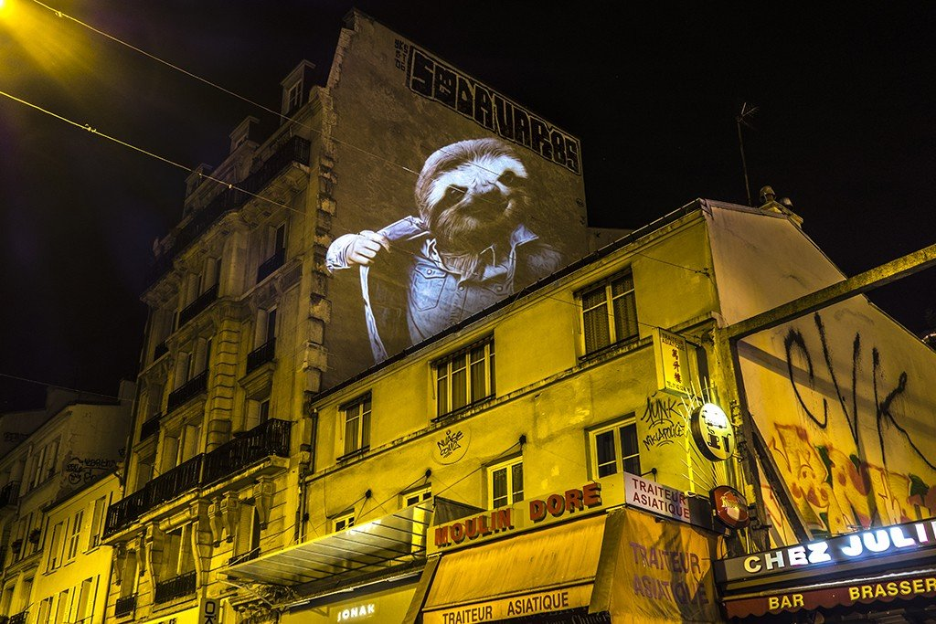 Le Paresseux de Lepic / The Sloth of Lepic // 2015 © Julien NONNON