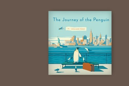 """The Journey of the Penguin"", Emiliano Ponzi per Penguin Books"