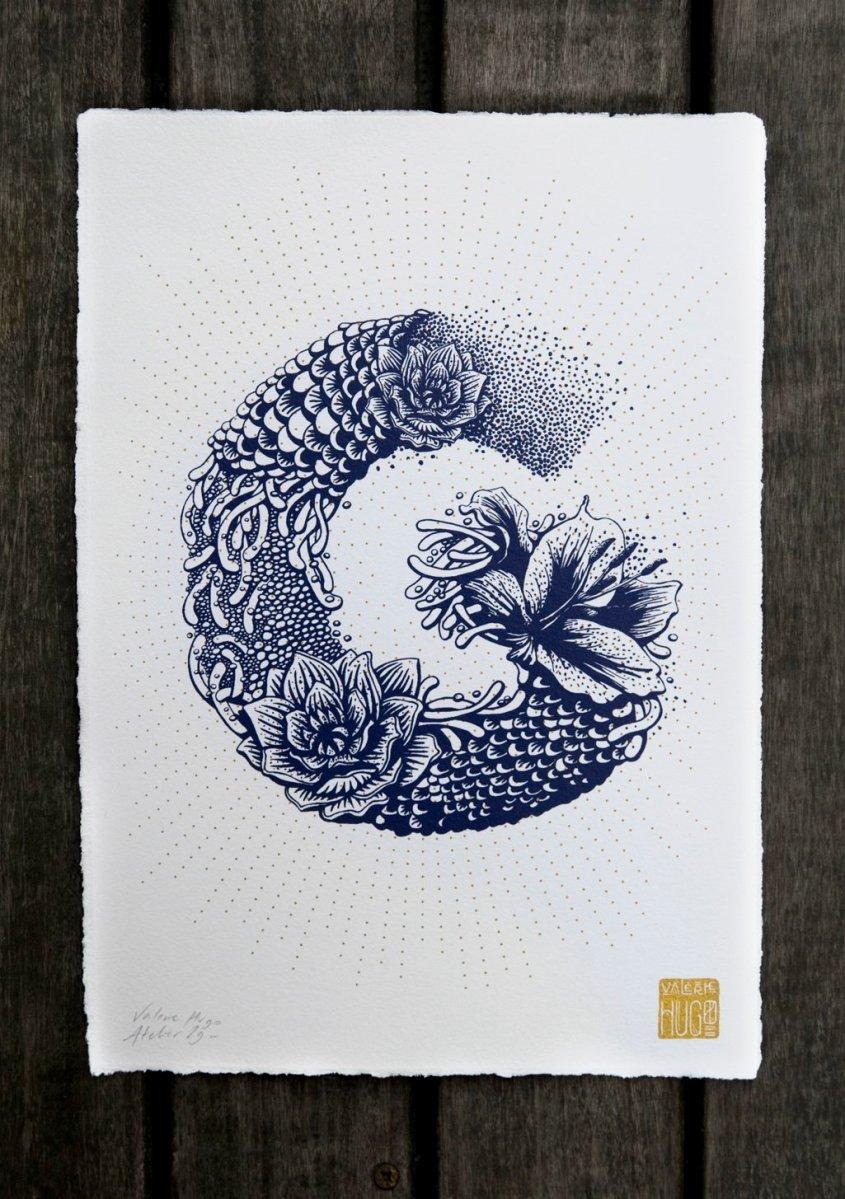 L'alfabeto illustrato di Valérie Hugo