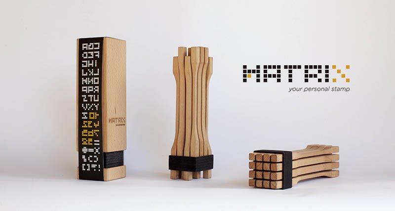 Matrix, l'evoluzione del timbro del pane di Matera