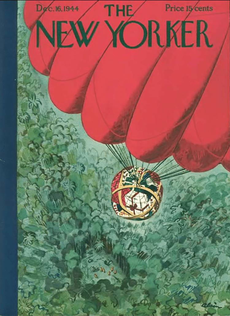 16 Dicembre 1944 : Cover art Alain