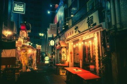 Le luci di Tokyo catturate da Masashi Wakui