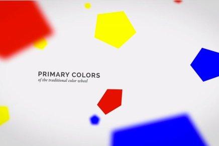 Una breve lezione sulla teoria del colore.