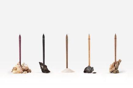 """""""Sostanza"""", una rappresentazione iconica dell'idea di matita"""